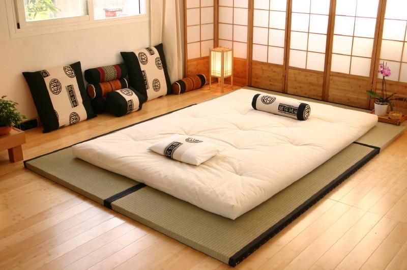 Futon alla giapponese for Camere giapponesi